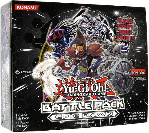 YuGiOh Battle Pack: Epic Dawn Booster Box [Sealed]