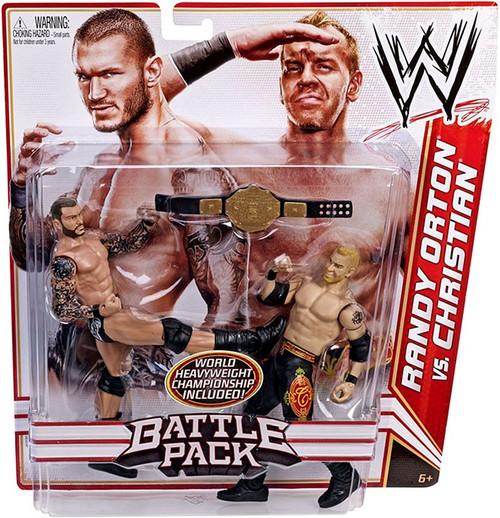 WWE Wrestling Series 16 Randy Orton vs. Christian Action Figure 2-Pack [World Heavyweight Championship]