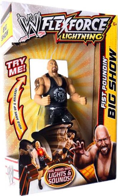 WWE Wrestling FlexForce Lightning Fist Poundin' Big Show Action Figure