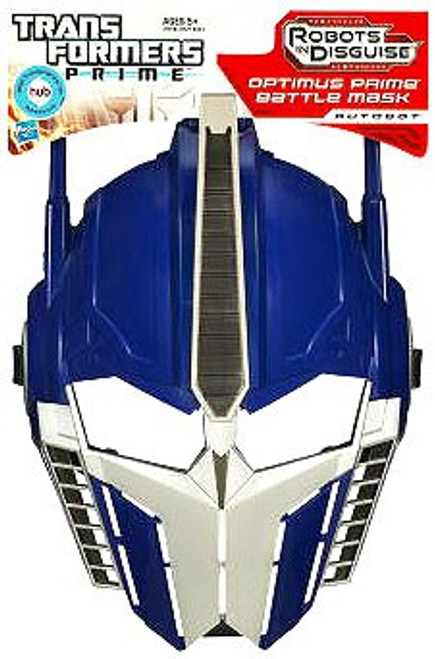 Transformers Robots in Disguise Optimus Prime Battle Mask Roleplay Toy