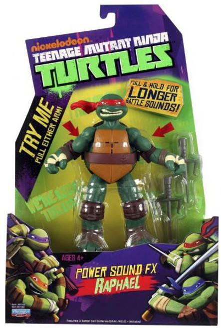 Teenage Mutant Ninja Turtles Nickelodeon Power Sound FX Raphael Action Figure