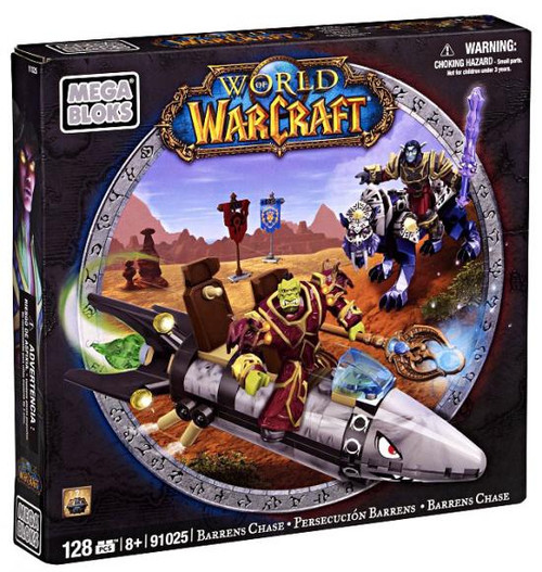 Mega Bloks World of Warcraft Barrens Chase Set #91025