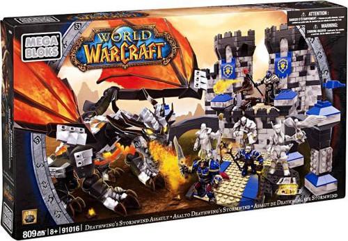 Mega Bloks World of Warcraft Deathwing's Stormwind Assault Set #91016