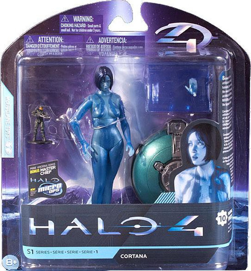 McFarlane Toys Halo 4 Series 1 Extended Cortana Action Figure