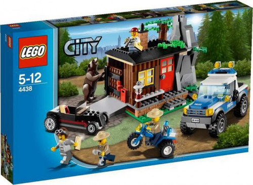 LEGO City Robber's Hideout Exclusive Set #4438