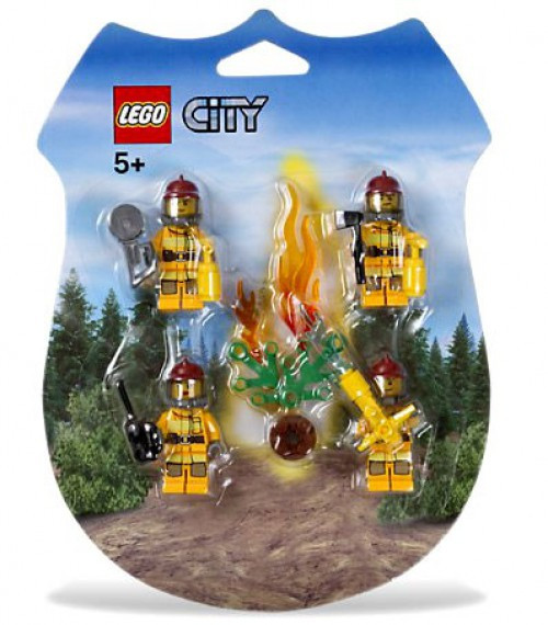 LEGO City Fire Fighters Rescue Pack Set #853378
