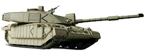 Forces of Valor s of Valor 1:72 Enthusiast Series Vehicles U.K. Challenger II Tank 1/7 [Baghdad]