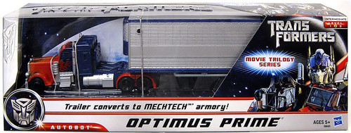 Transformers Movie Movie Trilogy Series Optimus Prime Ultra Action Figure