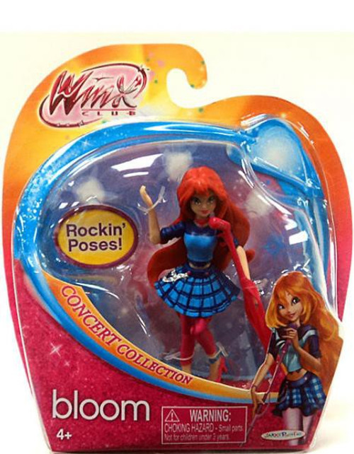 Winx Club Concert Collection Bloom 3.75-Inch Doll Figure