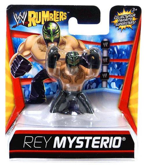 WWE Wrestling Rumblers Series 1 Rey Mysterio Mini Figure [Black Outfit]