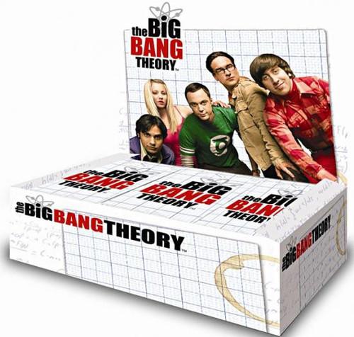 The Big Bang Theory Seasons 1 & 2 Trading Card Box