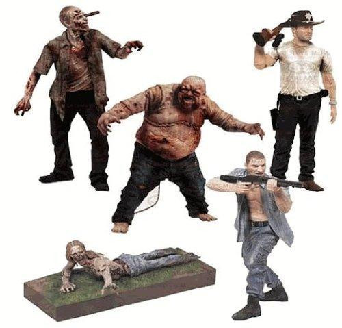 McFarlane Toys AMC TV Walking Dead Series 2 Set of 5 Action Figures