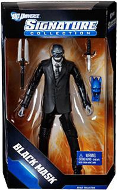 DC Universe Club Infinite Earths Signature Collection Black Mask Exclusive Action Figure