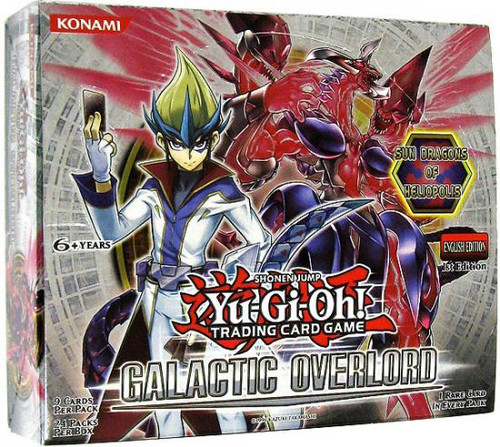 YuGiOh Galactic Overlord Booster Box [24 Packs] [Sealed]