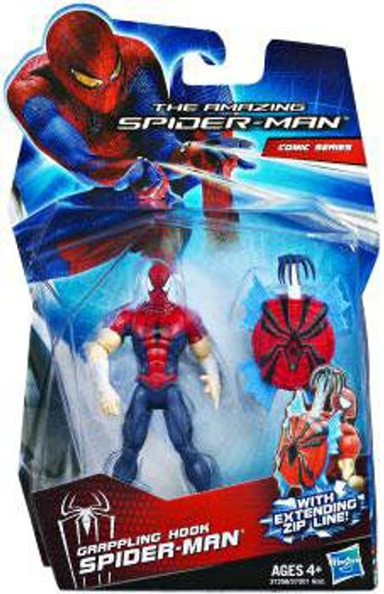The Amazing Spider-Man Comic Series Grappling Hook Spider-Man Action Figure