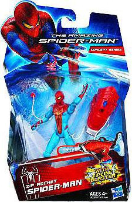 The Amazing Spider-Man Concept Series Zip Rocket Spider-Man Action Figure