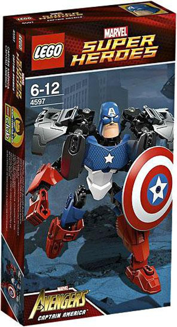 LEGO Marvel Super Heroes Avengers Captain America Set #4597