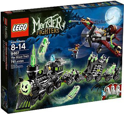 LEGO Monster Fighters Ghost Train Exclusive Set #9467