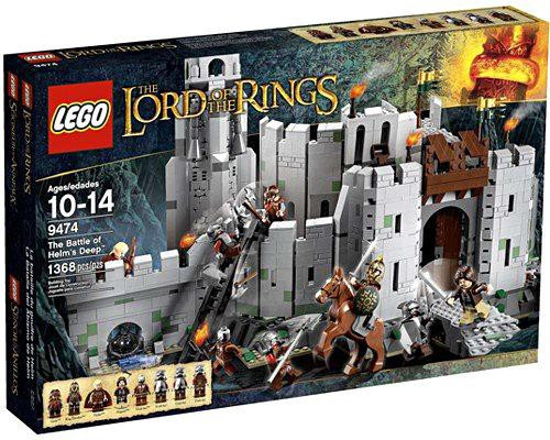 LEGO The Lord of the Rings The Battle of Helm's Deep Set #9474