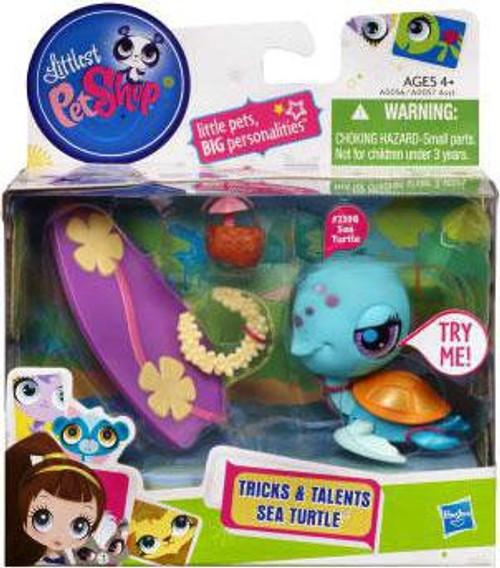 Littlest Pet Shop Tricks & Talents Sea Turtle Figure #2398