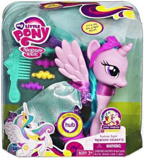 My Little Pony Friendship is Magic Pony Wedding Fashion Style Princess Celestia Figure