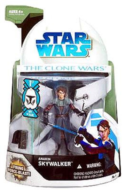 Star Wars The Clone Wars Clone Wars 2008 Anakin Skywalker Action Figure #1 [First Day of Issue]