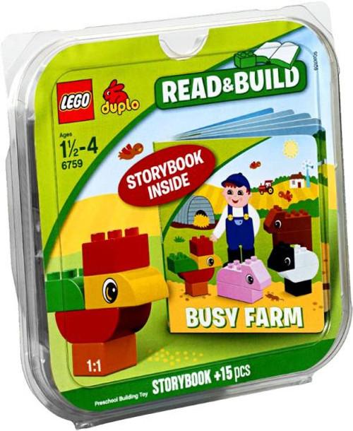 LEGO Duplo Read & Build Busy Farm Storybook Set #6759