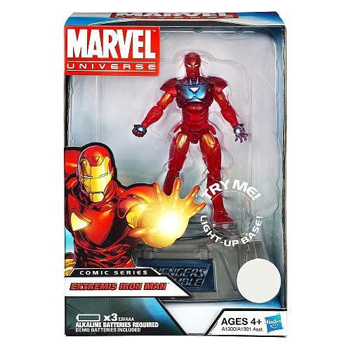 Marvel Avengers Comic Series Extremis Iron Man Exclusive Action Figure