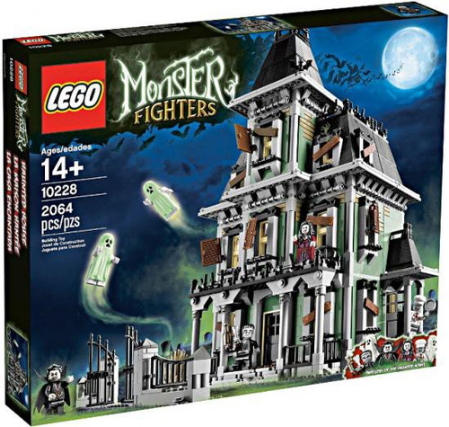 LEGO Monster Fighters Haunted House Exclusive Set #10228