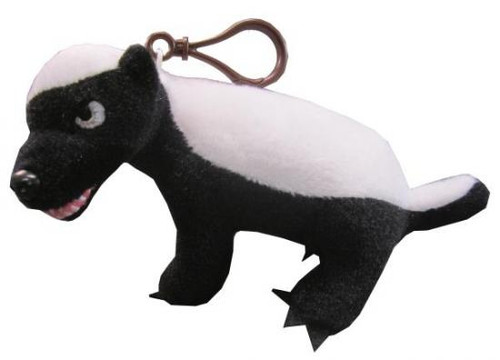 """Honey Badger Plush Clip On [""""PG"""" Rated Version]"""