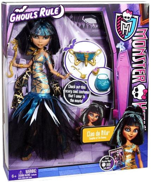 Monster High Ghouls Rule Cleo de Nile 10.5-Inch Doll