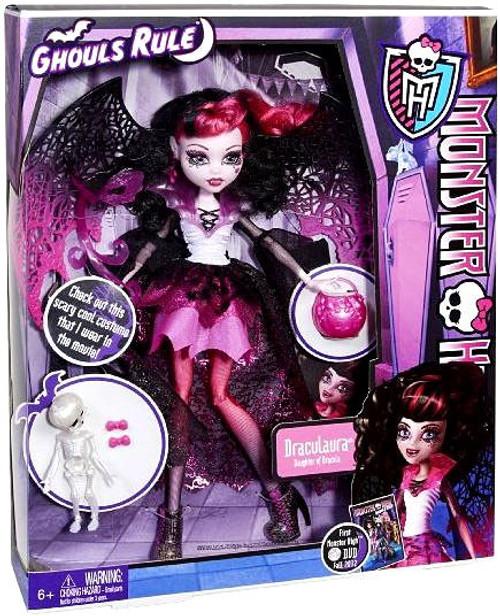 Monster High Ghouls Rule Draculaura 10.5-Inch Doll