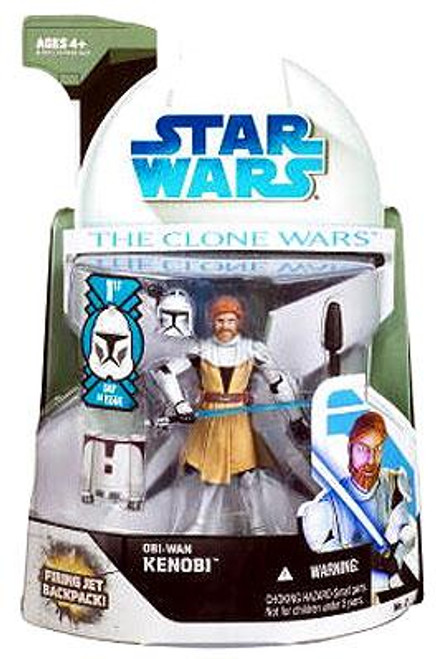 Star Wars The Clone Wars Clone Wars 2008 Obi-Wan Kenobi Action Figure #2 [First Day of Issue]