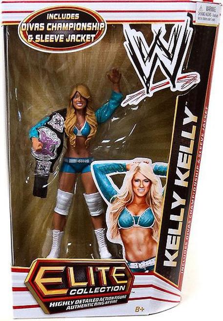 WWE Wrestling Elite Series 17 Kelly Kelly Action Figure [Divas Championship Belt & Sleeve Jacket]