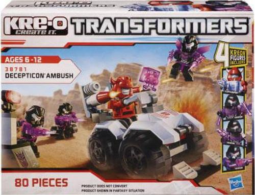 Transformers Kre-O Decepticon Ambush Set #38781