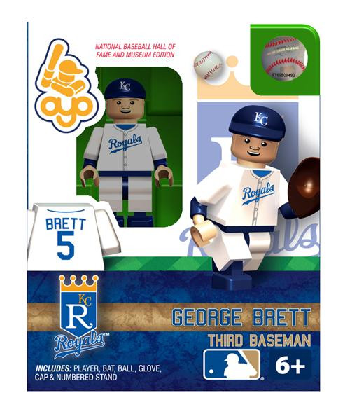 Kansas City Royals MLB Hall of Fame George Brett Minifigure