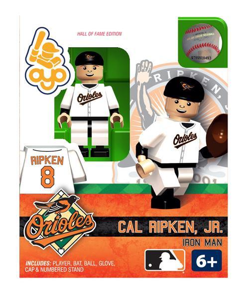 Baltimore Orioles MLB Hall of Fame Cal Ripken Jr. Minifigure