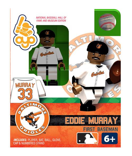 Baltimore Orioles MLB Hall of Fame Eddie Murray Minifigure