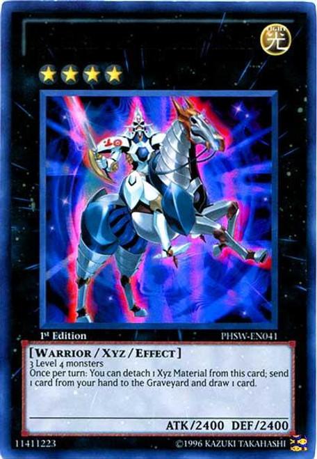 YuGiOh Zexal Photon Shockwave Ultra Rare Number 10: Illumiknight PHSW-EN041
