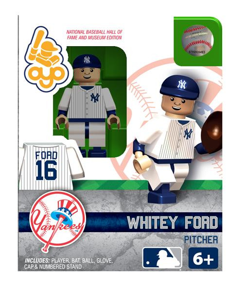 New York Yankees MLB Hall of Fame Whitey Ford Minifigure