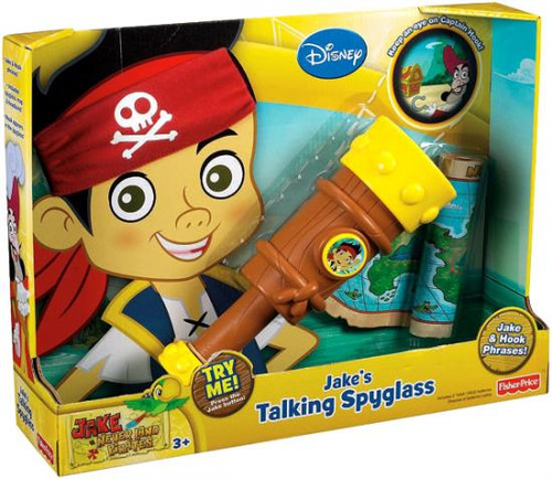 Fisher Price Disney Jake and the Never Land Pirates Jake's Talking Spyglass Roleplay Toy