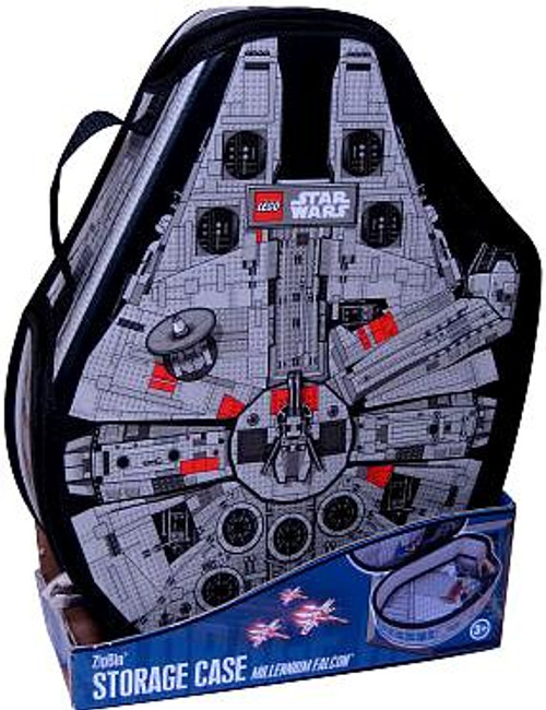 LEGO Star Wars Millennium Falcon ZipBin Messenger Bag