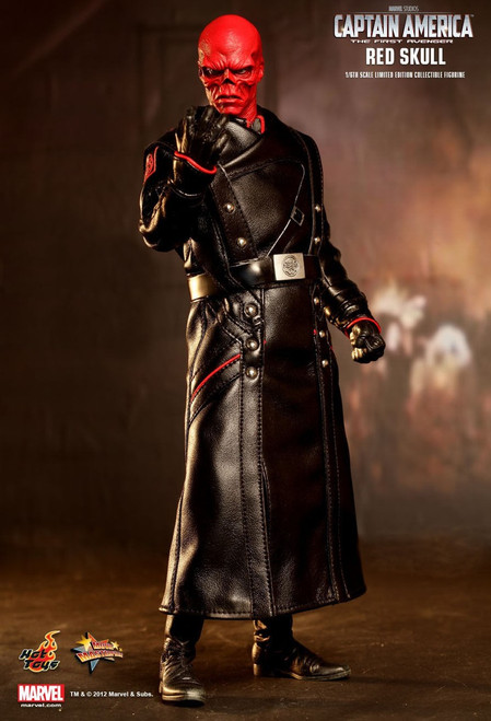 The First Avenger Captain America Movie Red Skull 1/6 Collectible Figure