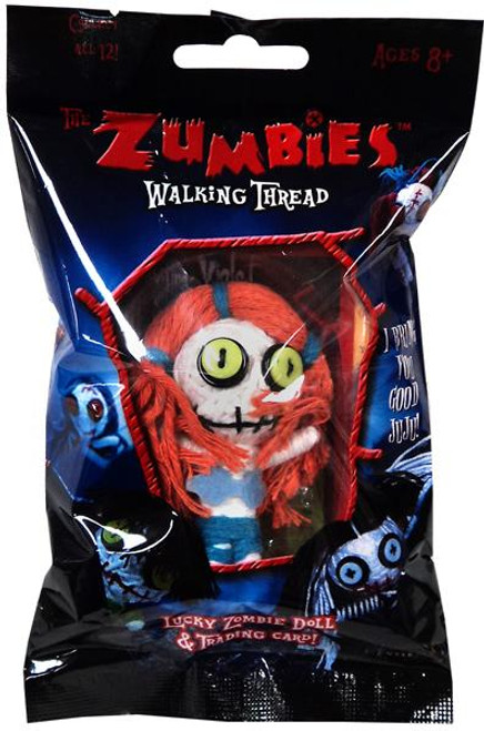 The Zumbies Walking Thread Lucky Zombie Doll Violet Keychain