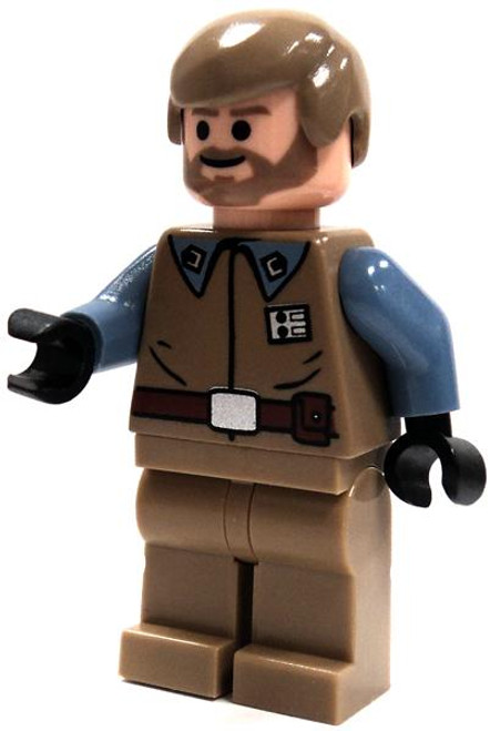 LEGO Star Wars Loose Crix Madine Minifigure [Blue Arms Loose]
