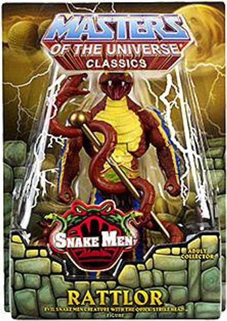 Masters of the Universe Classics Snake Men Rattlor Exclusive Action Figure