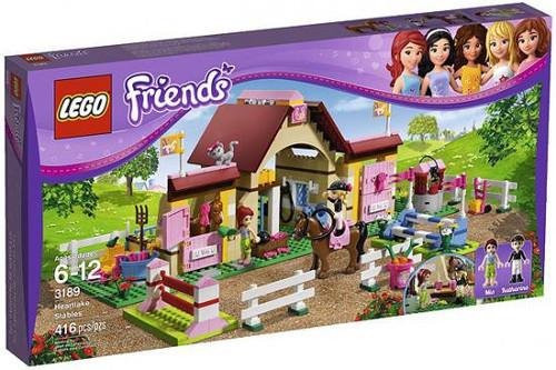 LEGO Friends Heartlake Stables Set #3189