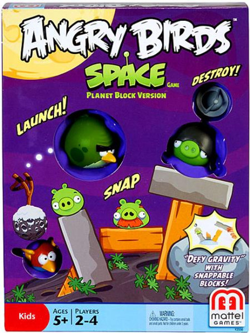 Angry Birds Space Planet Block Version Game
