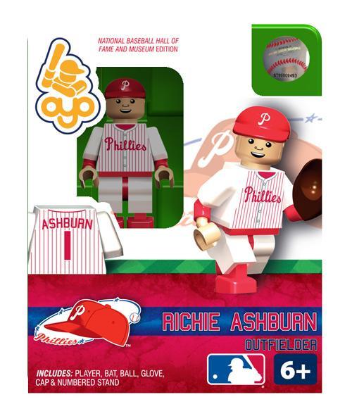 Philadelphia Phillies MLB Hall of Fame Richie Ashburn Minifigure