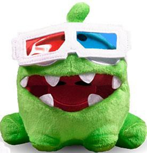 Cut the Rope Pose-N-Play Om Nom 5-Inch Plush [3-D Glasses]